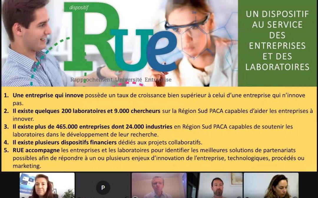 Le Dispositif RUE présenté aux entreprises du VAR