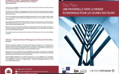 Lancement de la formation Doc Pass lors du Forum Tremplin Stage / Emploi / Entrepreneuriat