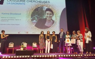 REA aux trophées Women in Tech Sud