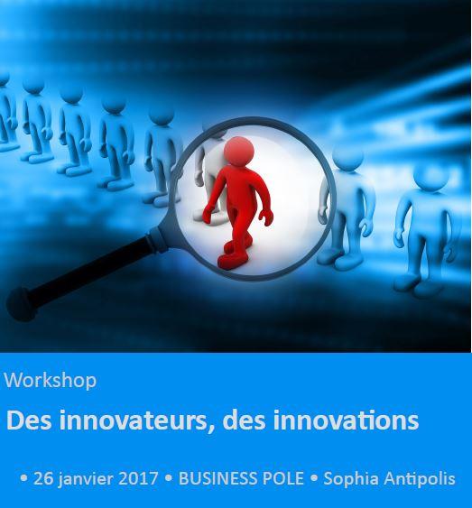 Workshop REA : des innovateurs, des innovations