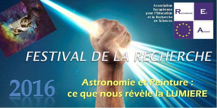 Festival de la Recherche 2016 - Recherche et Avenir